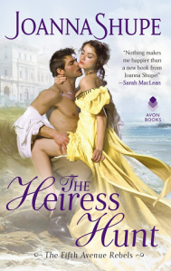 Cover of The Heiress Hunt by Joanna  Shupe