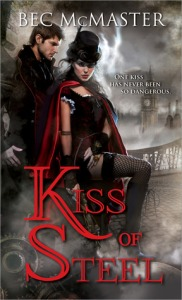 Cover of Kiss of Steel by Bec McMaster