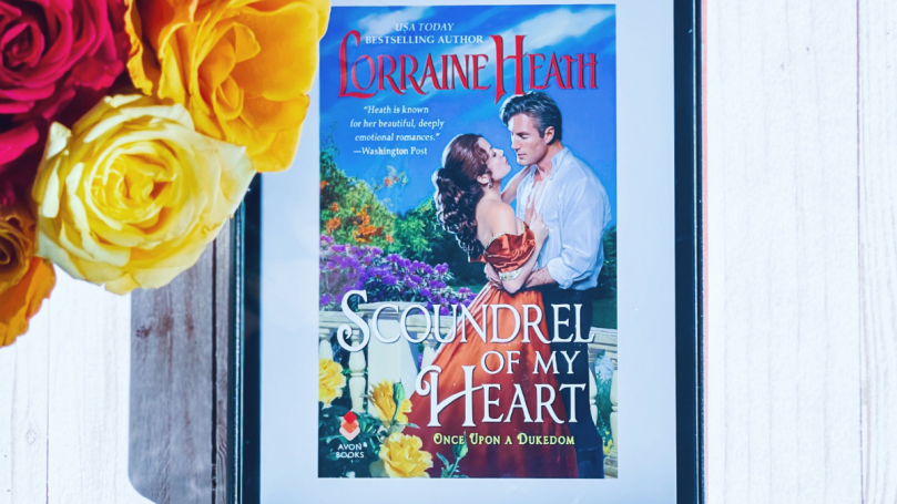 Feature image featuring Scoundrel of My Heart by Lorraine Heath