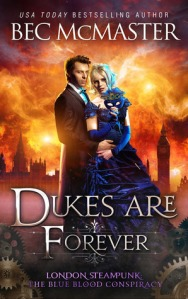 Cover of Dukes Are Forever by Bec McMaster