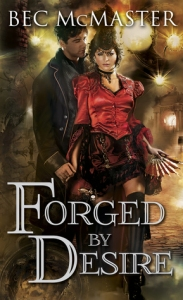 Cover of Forged by Desire by Bec McMaster
