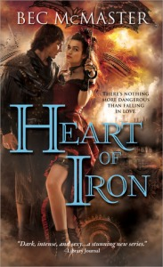 Cover of Heart of Iron by Bec McMaster