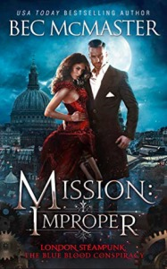 Cover of Mission: Improper by Bec McMaster