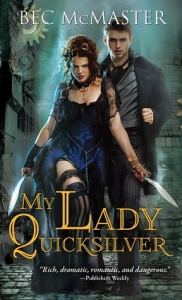 Cover of My Lady Quicksilver by Bec McMaster