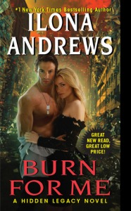 Burn for Me by Illona Andres